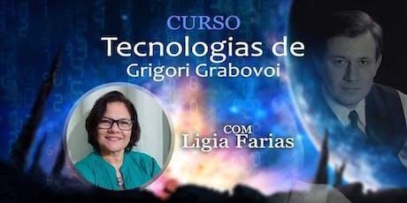 Ligia Farias - Curso Tecnologias de Grabovoi ingressos