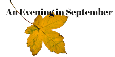 An Evening in September 2019 tickets