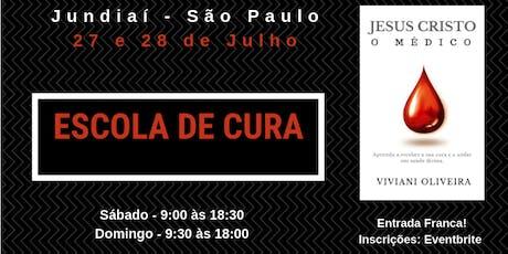 Escola de Cura - Jundiaí, São Paulo ingressos