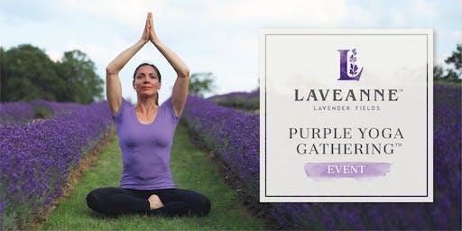 Laveanne Purple Yoga Gathering