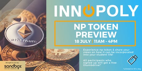 Innopoly 2019: NP Token  Special Preview - 18 July 2019 tickets