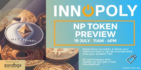 Innopoly 2019: NP Token  Special Preview - 19 July 2019 tickets