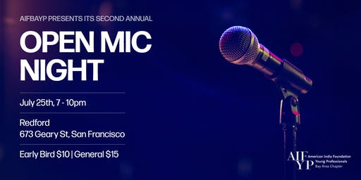 AIFBAYP's Second Annual Open Mic Night