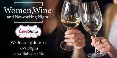 Women & Wine on Wednesdays - July Meetup tickets