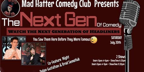 The Next Gen Of Comedy Co-Feature EARLY SHOW tickets