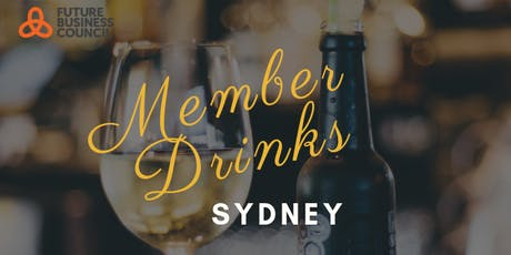 Future Business Council Sydney Member Drinks, hosted by Interface tickets