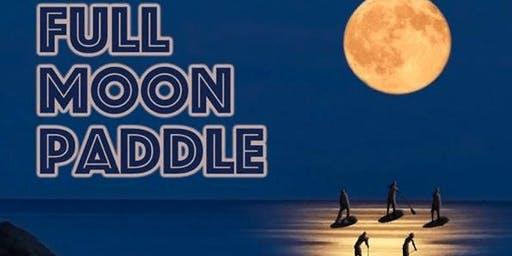Full Buck Moon Paddle and Party (SUP & Kayaks)