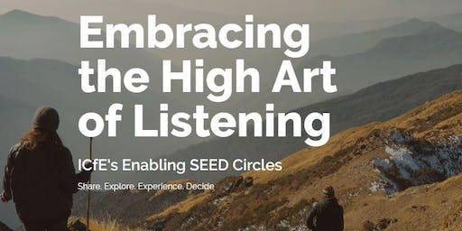 Embracing the High Art of Listening Workshop