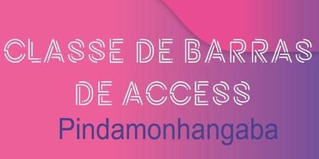 Curso de Barras de Access® ingressos