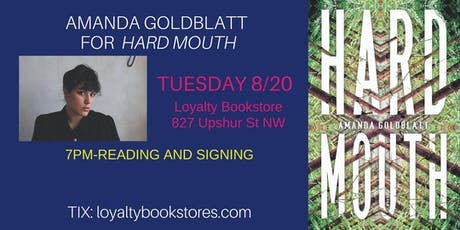 Amanda Goldblatt for Hard Mouth tickets