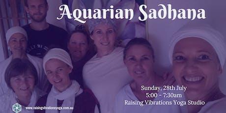 Aquarian Sadhana tickets