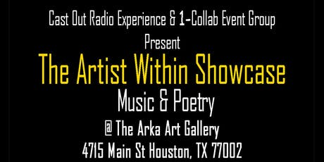 The Artist Within Music & Poetry Showcase tickets
