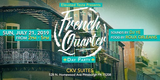 A Taste of the French Quarter Day Party