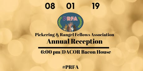 Pickering & Rangel Fellows Association Annual Reception tickets