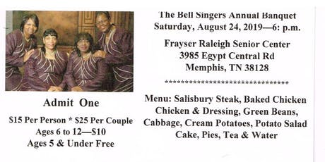 The Bell Singers Annual Banquet tickets