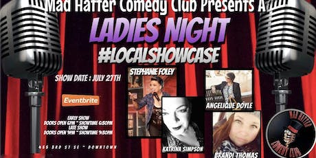 Ladies Night Local Showcase EARLY SHOW tickets