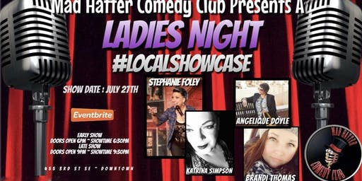 Ladies Night Local Showcase EARLY SHOW