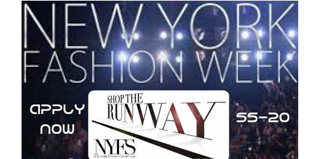 NYFW SPRING SUMMER-20 DESIGNER SHOW (FOOTWEAR,EMERGING PRESENTATION & ACCESSORY) DESIGNERS WANTED tickets
