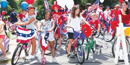 RED WHITE AND BOOM Bicycle and Wagon Parade