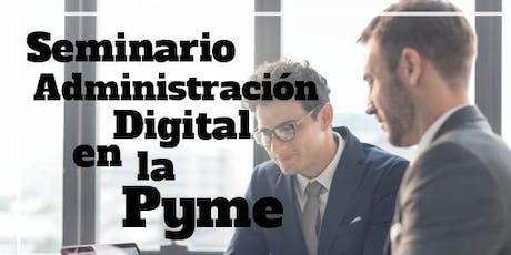 Administracion Digital en la Pyme tickets