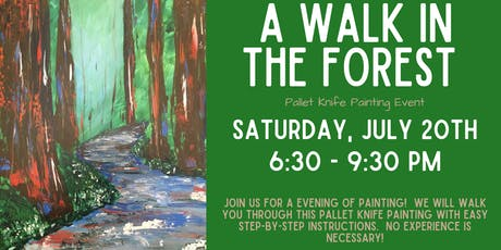 A Walk in the Forest Pallet Knife Painting Event tickets
