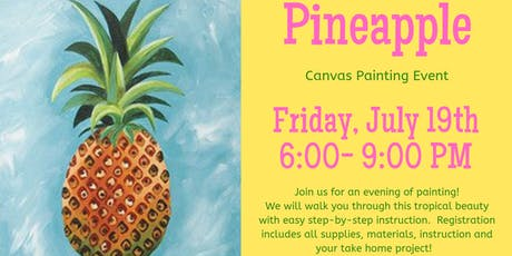 Pinapple Canvas Painting Event tickets