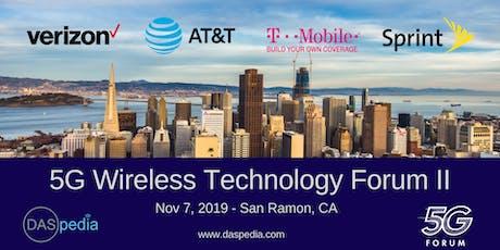 DASpedia's 5G Wireless Technology Forum II tickets