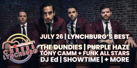 LYNCHBURG'S BEST - DJ ED - THE DUNDIES - PURPLE HAZE - DJ SHOWTIME - TONY CAMM - FUNK ALL STARS tickets