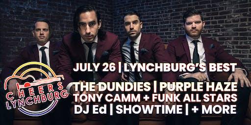 LYNCHBURG'S BEST - DJ ED - THE DUNDIES - DJ SHOWTIME - TONY CAMM - FUNK ALL STARS