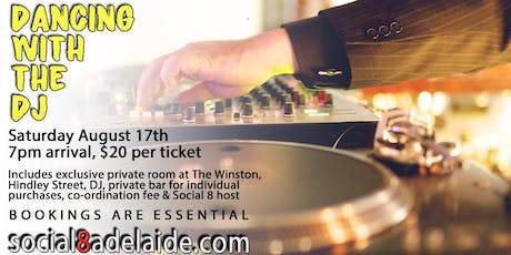 Dancing With The DJ Social Mixer | The Winston tickets