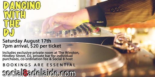 Dancing With The DJ Social Mixer | The Winston