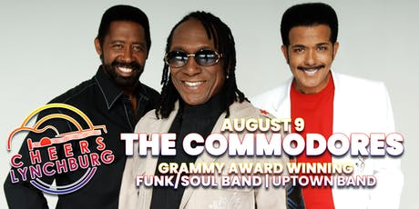 THE COMMODORES - CHEERS LYNCHBURG tickets