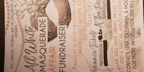 White Masquerade Fundraiser tickets