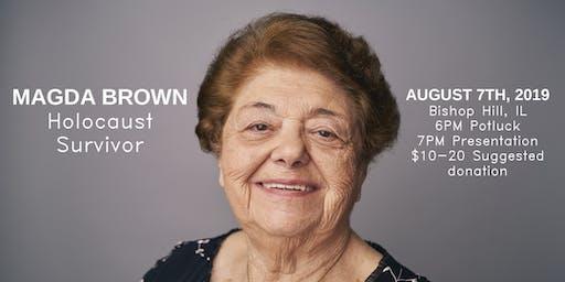 Magda Brown: Holocaust Survivor (Bishop Hill, IL)