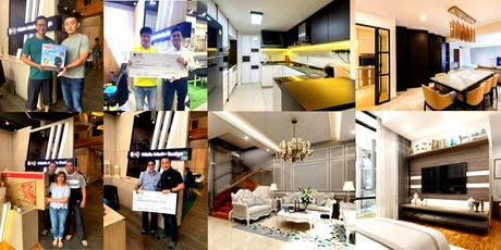 Renovation Open House 2019 by EXQsite Interior Design (Singapore): Wonderful Home Transformation  tickets