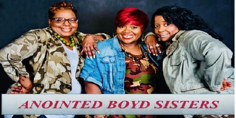 The Anointed Boyd Sisters Anniversary tickets