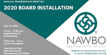 Annual Membership Meeting & 2020 Board Installation tickets