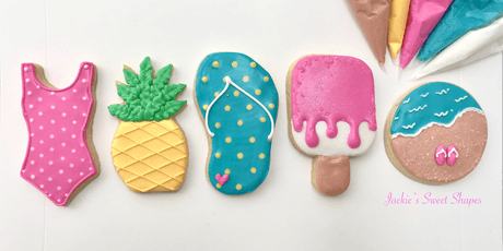Beach Themed Cookie Decorating Class-MORNING Session tickets