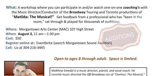 Musical Theatre Audition Workshop