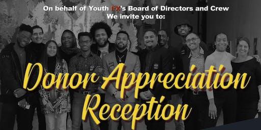 YFX Donor Appreciation Reception