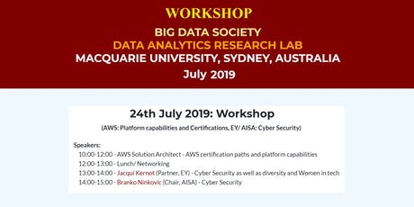 BigDataSociety Workshop: AWS Platform capabilities and Certifications tickets