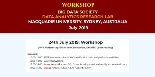 BigDataSociety Workshop: AWS Platform capabilities and Certifications