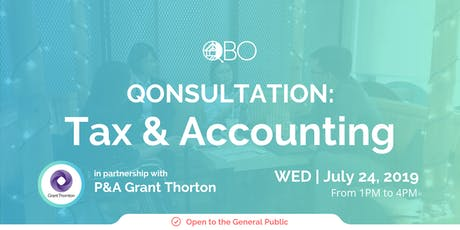 QONSULTATION: Tax and Accounting tickets