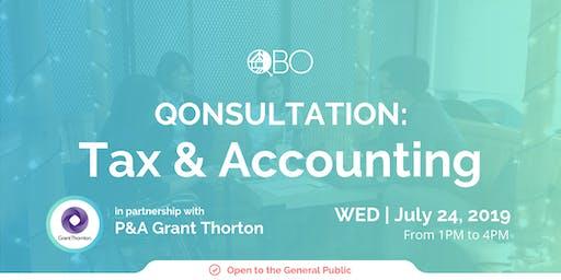 QONSULTATION: Tax and Accounting