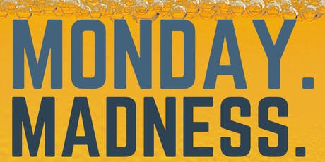 MONDAY MADENESS GAME NIGHT with pong tournament tickets