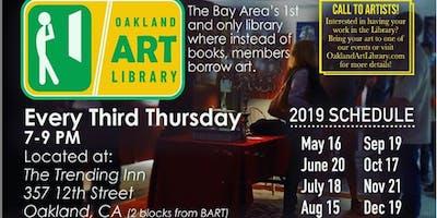 Oakland Art Library Third Thursday