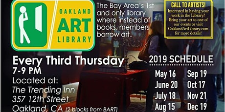 Oakland Art Library Third Thursday tickets