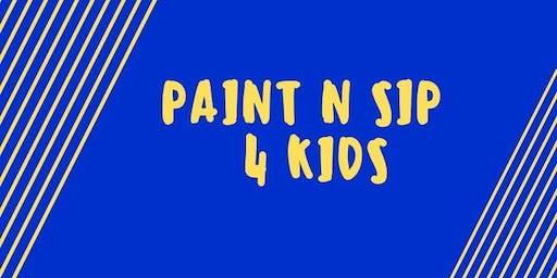 PAINT N SIP 4 KIDS