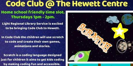 Term 3 Light Library Code Club @ The Hewett Centre tickets
