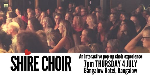 Shire Choir Bangalow - July